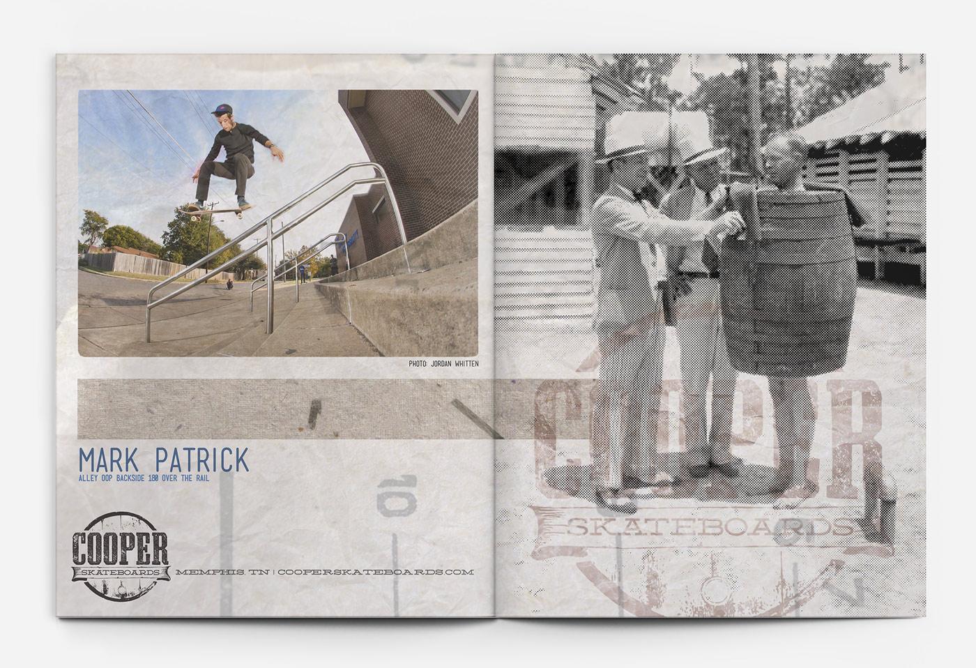 Cooper Skateboards Ad - Mark Patrick